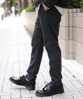 BEAMS / モールスキン ストレッチ テーパード パンツ