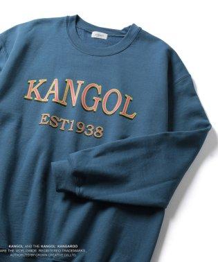 【KANGOL】別注クルーネックスウェット