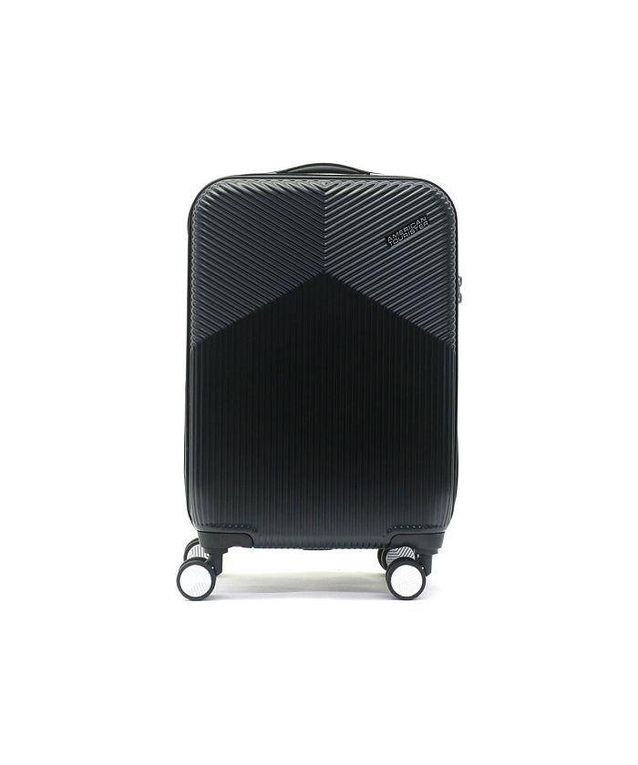 (AMERICAN TOURISTER/アメリカンツーリスター)サムソナイト アメリカンツーリスター スーツケース AMERICAN TOURISTER Air Ride Spinner 55 36.5L DL9−001/ユニセックス ブラック