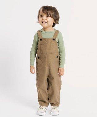 SHIPS KIDS:モールスキン オーバーオール(80~90cm)