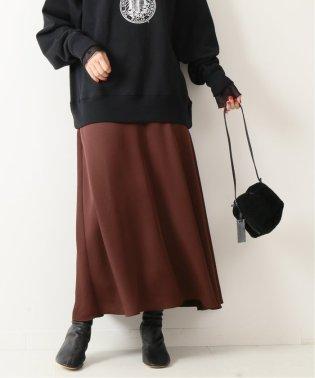 ヘビーサテンフレアスカート◆