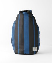 【NOMA t.d.】Stripe Roll Bag big:バッグ