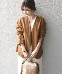 Khaju:シンプルノーカラージャケット