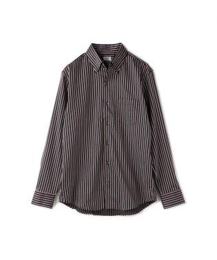 ストライプB.D.シャツ/コットンドビー織り/コットン100%