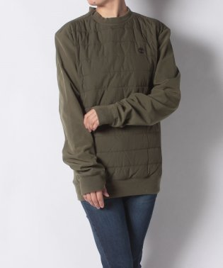 【WOMENS】Padded pullover polyfill Olive