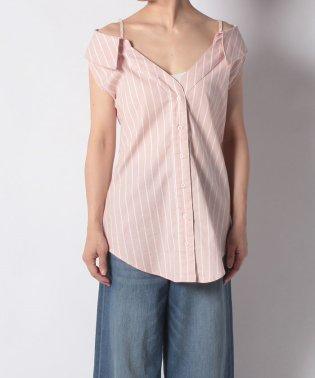 【DaTuRa】・ストライプノースリシャツ