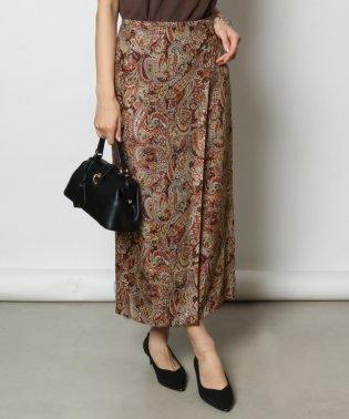 FENNEL(フェンネル) ペイズリー柄ラップスカート