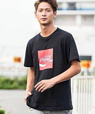 No sweat.【ノースウェット】Californiaボックスロゴプリントクルーネック半袖Tシャツ