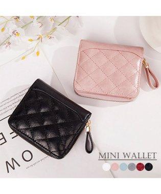 二つ折り財布 レディース財布 ミニウォレット レザー 小銭入れ カード入れ コンパクト ベーシック
