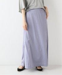 SLOBE IENA Fi.m  サテンスリットロングスカート