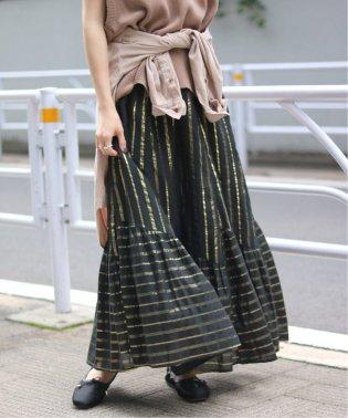 【SARA MALLIKA/サラマリカ】CTN LUREX ロングスカート◆