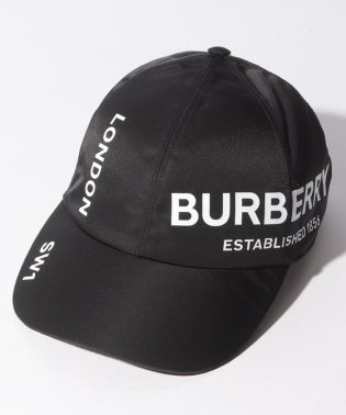 【BURBERRY】ロゴキャップ/Mサイズ【BLACK】