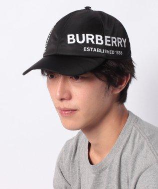 【BURBERRY】ロゴキャップ/Lサイズ【BLACK】