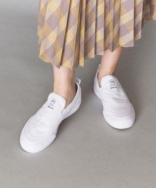 【WEB限定】<adidas Originals(アディダス)>MATCHCOURT マッチコート ホワイト/スリッポン