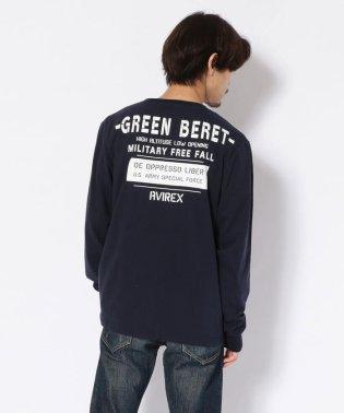 クルーネックTシャツ グリーンベレー ハロ/T-SHIRT GREEN BERET HALO