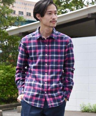 SC: フェザー チェック レギュラーカラー ネルシャツ 19FW
