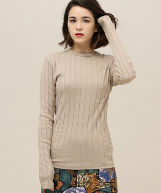 【YOUNG&OLSEN】RIB BACKLACE LS