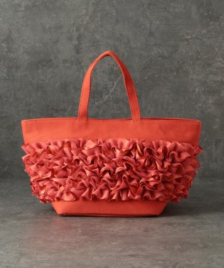 【CACHELLIE】CANVAS×FRILL TOTE(S)