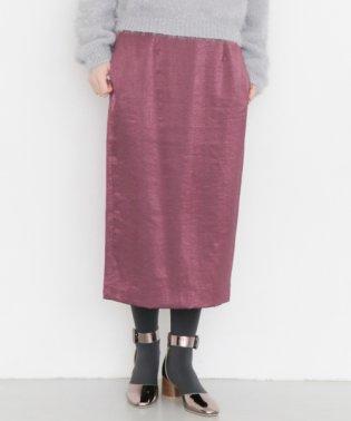 【KBF】サテンタイトスカート