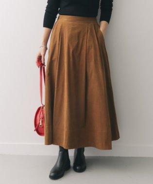 【DOORS】コーデュロイロングフレアスカート