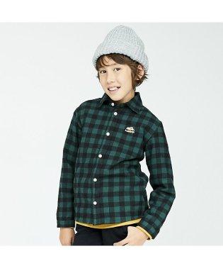 チェック柄ネルシャツ(130~160cm)