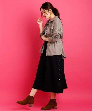【大きいサイズ】ギャザースカートサロペット