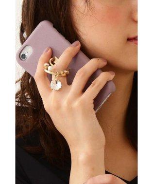 キラリングスタンドスマホケース iPhone6・7・8