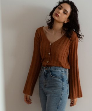 WIDE LIB CARDIGAN