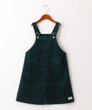 ★【ジュニア】DICKIES(ディッキーズ)コーデュロイ オーバーオールスカート
