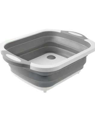 2way折りたたみ排水口付き洗い桶