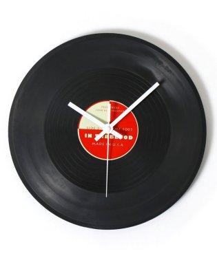 レコード型壁掛け時計
