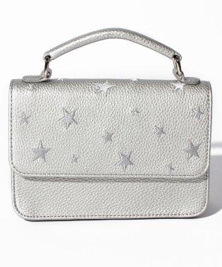 PASSE-DIX/パスディス 星刺繍お財布ショルダーバッグ
