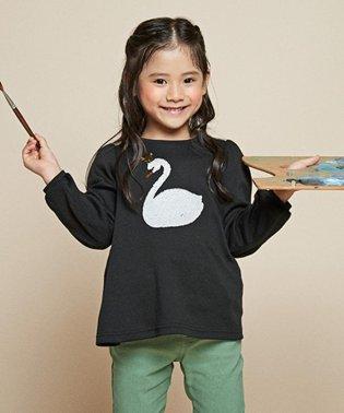 【140-150cm】ミラクルスパンコール スムース Tシャツ