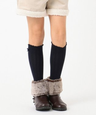 【SCHOOL雑貨】サークルケーブルショートブーツ (22-24cm)