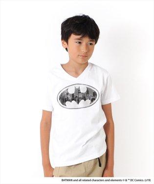 バットマン/ゴッサム・シティVネック半袖Tシャツ