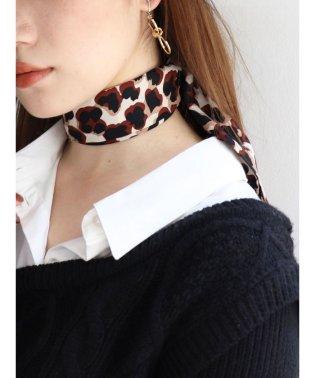 ミックスカラーレオパードスカーフ