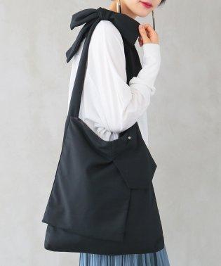 『n'Orショルダーリボン×デザインポケットバッグ』
