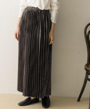 FILBLANC サテンドットスカート