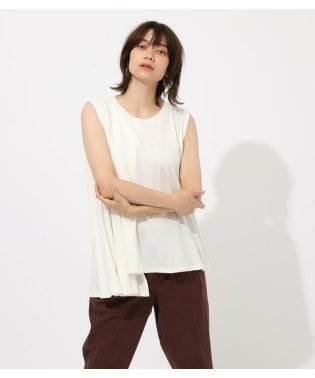 Asymmetry drape cut tops