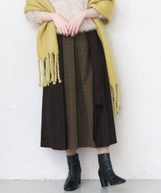 【KBF】mixパターンデザインスカート