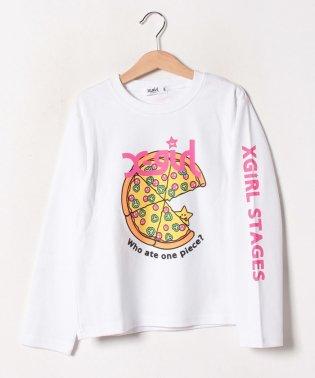 ピザモチーフTシャツ