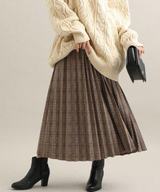 【WEB限定】ジャガードプリーツスカート