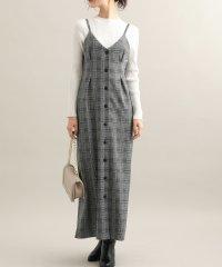【WEB限定】ジャガードジャンパースカート