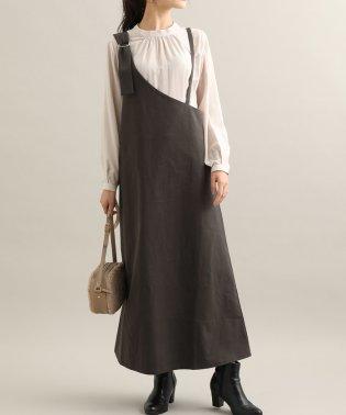 【WEB限定】ワンショルダージャンパースカート
