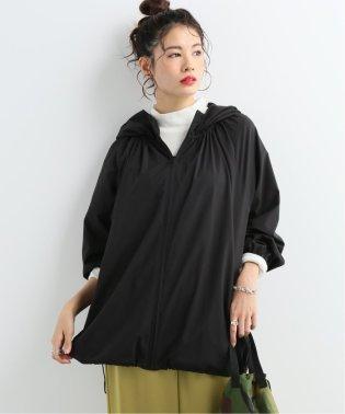 【NEU】ピーチタフタ ギャザーフードブルゾン