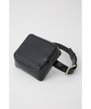 F/LEATHER POUCH BELT