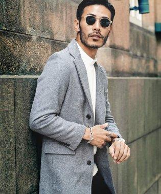 チェスターコート&フーテッドコート&ステンカラーコート / チェスターコート メンズ コート アウター ビジネス ロング