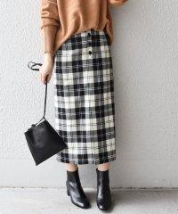 タータンチェックタイトスカート◇