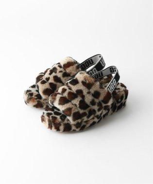 【UGG/アグ】Fluff Yeah Slide leopard:シューズ
