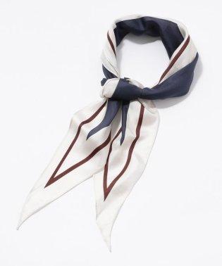 シルクツイルダイヤラインスカーフ